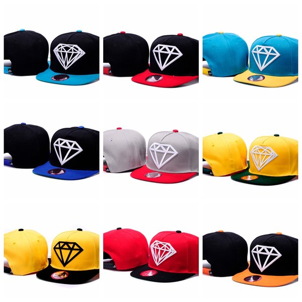 2019 New Diamonds Supply Co. Baseball Caps Men Women Snapback Bone Brand Hats For Men Sun Gorras Casquette Chapeu