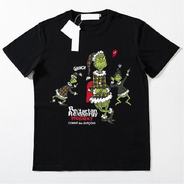 Yaz Marka T-shirt Tasarımcısı Erkek Giyim Beyaz T-Shirt 19ss Pamuk mektubu baskı Mens Womens Kısa kollu büyük boy T-shirt