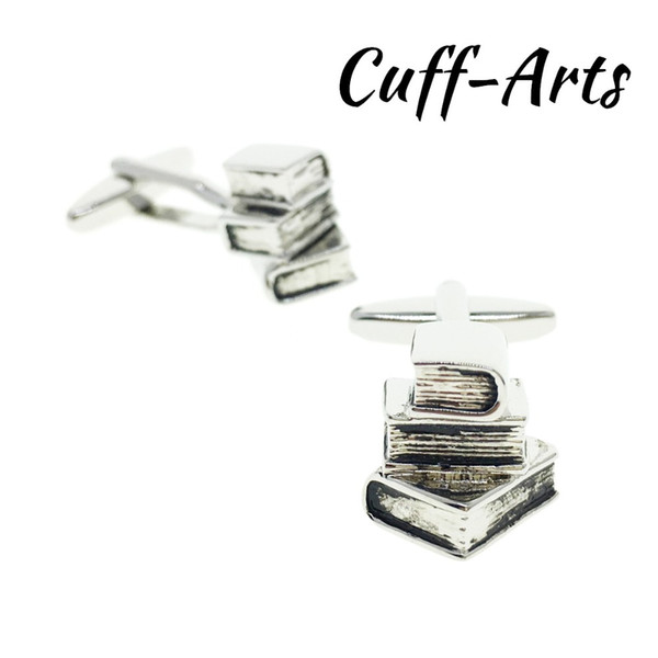 Cufflinks for Men Books Novelty High Quality Mens Cufflinks Gifts for Men Shirt Cuff links With Gift Box by Cuffarts C10194
