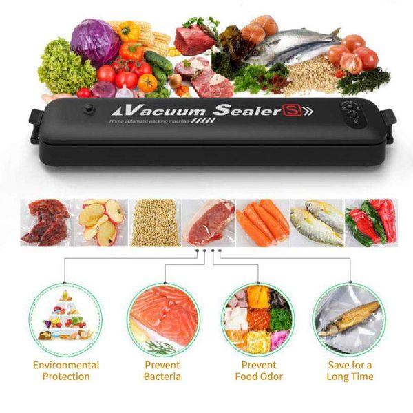 Système automatique de soudure à l'air de scellant sous vide de machine de scelleur de nourriture pour la conservation des aliments