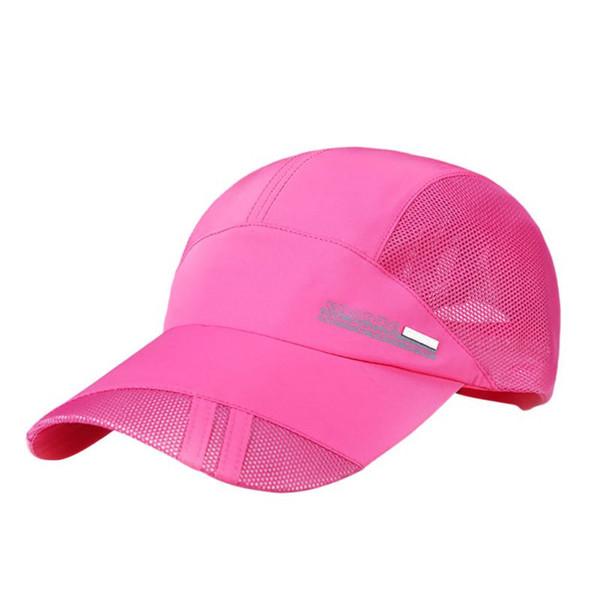 Women Men Summer Outdoor Sport Baseball Hat Running Visor Cap Sports Cap Fast Dry