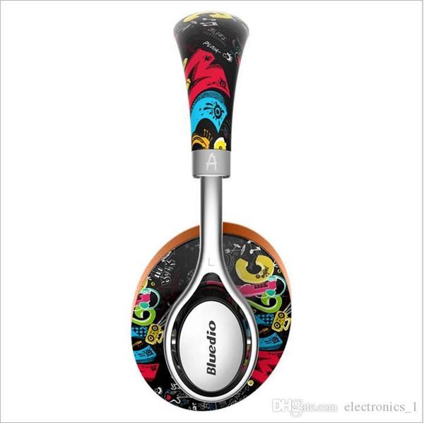 Usine vendre Bluedio A2 (Air) Bluetooth casque / casque imprimé casque sans fil pour voiture Bluetooth 4.2 écouteurs de musique