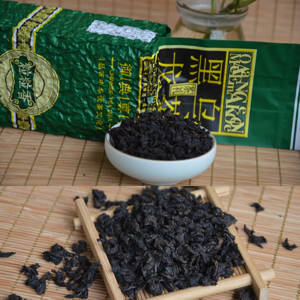250g tieguanyin black oolong slimming tea, oil cut black oolong tea tie guan yin fast weight loss
