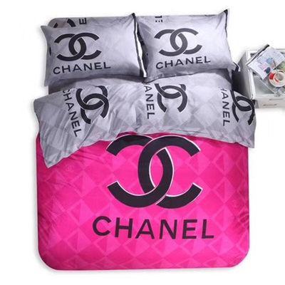 Luxus Heimtextilien Bettbezug Kissenbezug setzt warmen weichen Kristall Samt klassische Baumwolle Set für viele Größe Bett 4pcs / set HT38