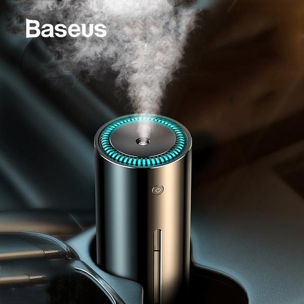 Baseus 300ml Alloy Air Humidifier Aroma Essential Oil Diffuser for Home Office Car Air Purifier Nano Spray Mute Clean Air Care