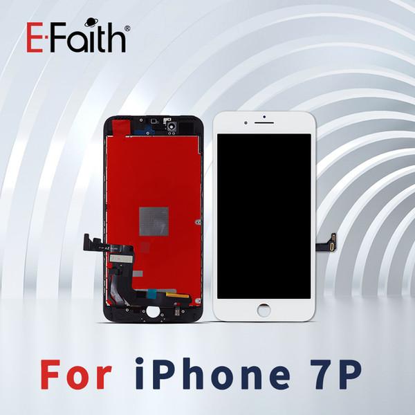 Grado A +++ LCD en blanco y negro para iPhone 7 Plus / 8 Plus Pantalla LCD Pantalla táctil Panel digitalizador Asamblea Envío gratis