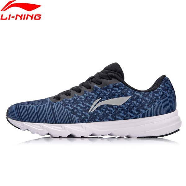 Men EZ RUN Cushion Running Shoes Light Weight Sneakers Wearable Footwear Anti-Slippery LiNing Sport Shoes ARBN019 XYP637