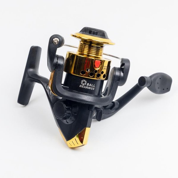 1000 series 8 color 3bb 5. spinning fishing reel with spool wire cup automatic folding for sea fishing saltwater left right thumbnail