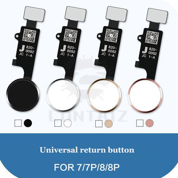 5PC Universal home button flex For iPhone 7G 7 plus 8G 8 plus with return function Solution For Apple iPhone 7 8