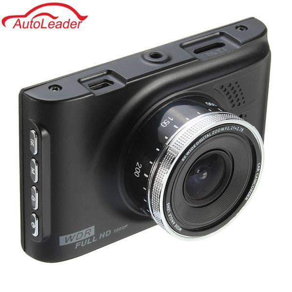 Freeshipping Car DVR Camera Dashcam Full HD 1080P 3.0 Inch Novatek 96223 Registrator Recorder 170 degree WDR G-sensor Night Vision