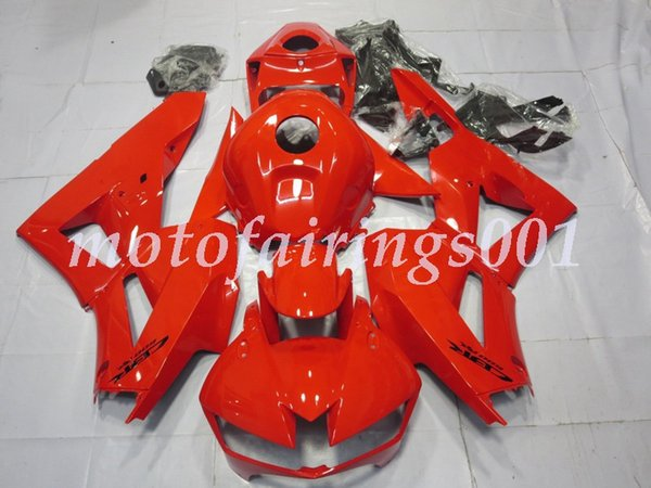 4 kit di carenature per motociclette in ABS con nuovi stampi a iniezione gratuiti adatti per HONDA CBR600RR 2013 2014 2015 2016 2017 2017 CBR600 F5 personalizzato rosso lucido