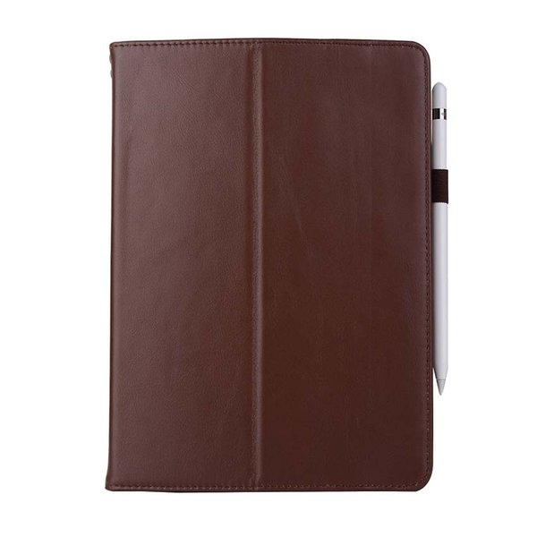 Classic Genuine Leather Tablet Case For iPad 9.7 5 6 PRO 10.5 with Stand Shockproof Real Leather Cover Case
