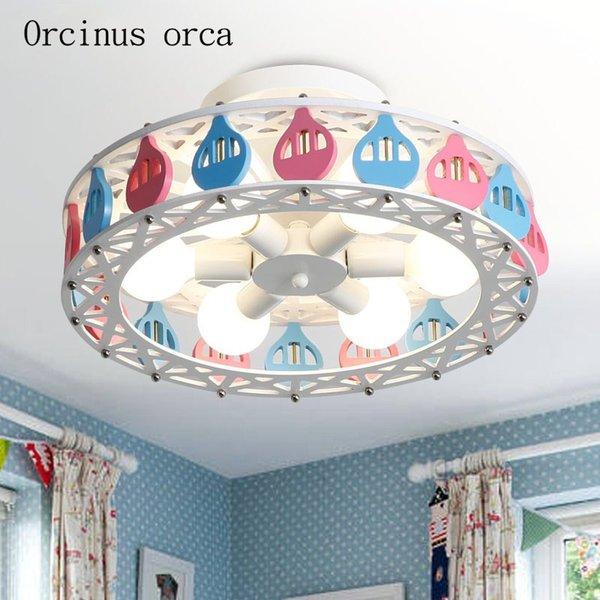 Großhandel Kreative Persönlichkeit Deckenleuchte Junge Mädchen Schlafzimmer  Prinzessin Zimmer Kinderzimmer Lampe Schöne Cartoon Ballon LED Decke Von ...