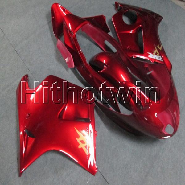 23colors + vis moulage par injection article de moto rouge pour HONDA CBR1100XX 1997 1998 1999 2000 2002 2002 2003 2003 Carénage en plastique ABS