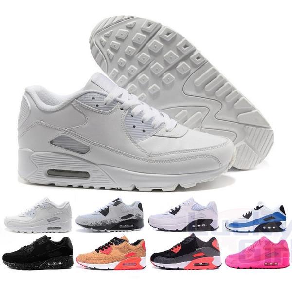 2019 Nike Air Max 90 Chaussures hommes HYP PRM QS кроссовки продажа онлайн мода День Независимости Zapatillas спортивные кроссовки