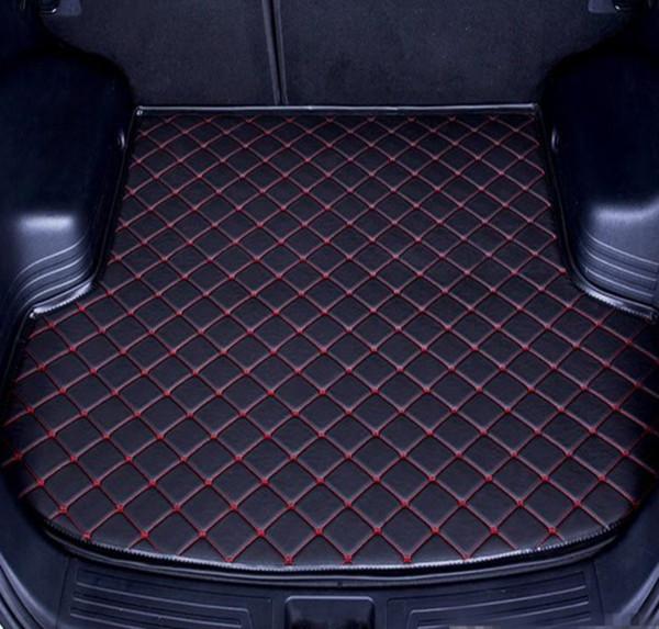 Trasporto Libero 2015-2019 Anni Mercedes-Benz Classe GLE Anti-skid Trunk Mat Impermeabile In Pelle Tappeto Car Tronco Mat Piatto Pad