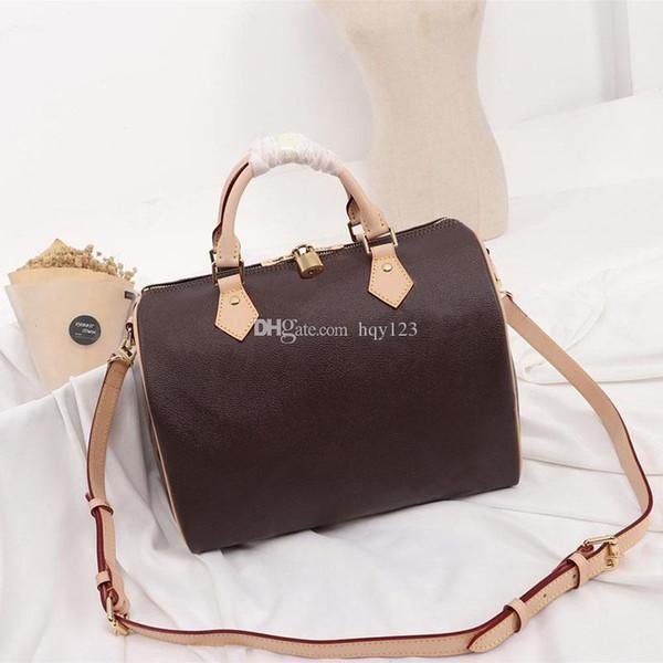 ultimi Speedy donne borse del progettista Grande lettera di lusso di dimensioni sacchetto 30 * 21 * 17cm e 16x 11 x 9 cm