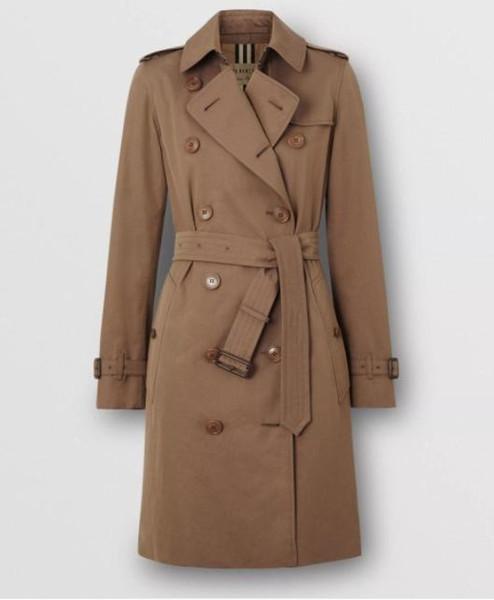 nouvelle marqueburberry veste légère gabardine Trench de luxeBurberry mode Veste longue concepteur clothing3601 #