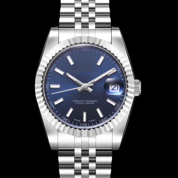 Neuheiten Luxus Herrenuhr 8215 Automatik Herrenuhren 40mm Datum Armbanduhren 316 Edelstahlkette Montre de Luxe