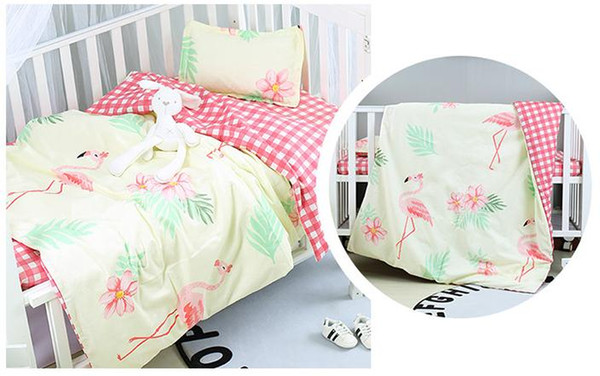 without filling ! 3PCS New Arrived Hot Ins crib bed linen baby Bedding set ,(Duvet Cover+Sheet+Pillowcase)