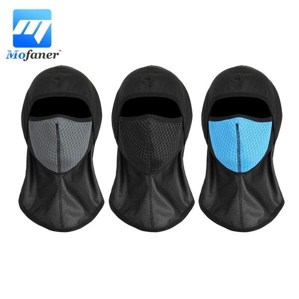 Mofaner Face Mask Windproof Motorcycle Cycling Fack Mask Breathable Motorcycle Helmet Hood Balaclava Masks Universal