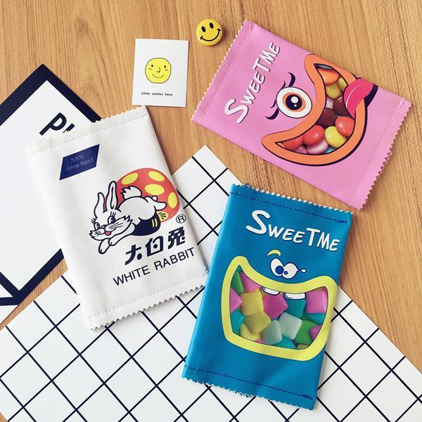 - Hot Sales Creative Chips School Pencil Case Cute Pu Leather Pen Bag Kawaii Stationery Pouch Office
