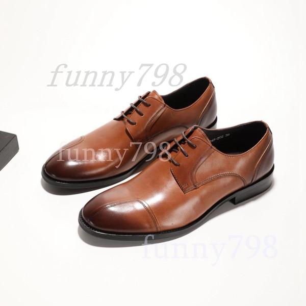 PRD 2019 designer de marca de luxo da da chaussures mens vestido sapatos formais genuínos homens de couro sapatos de grife plataforma sole1564820878945