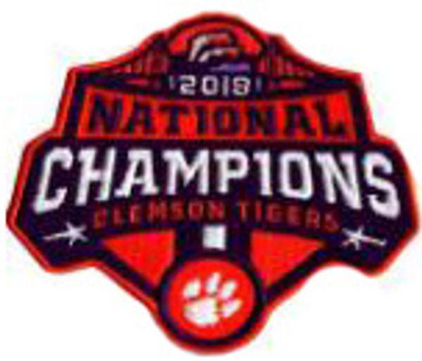 Clemson Champions Patch