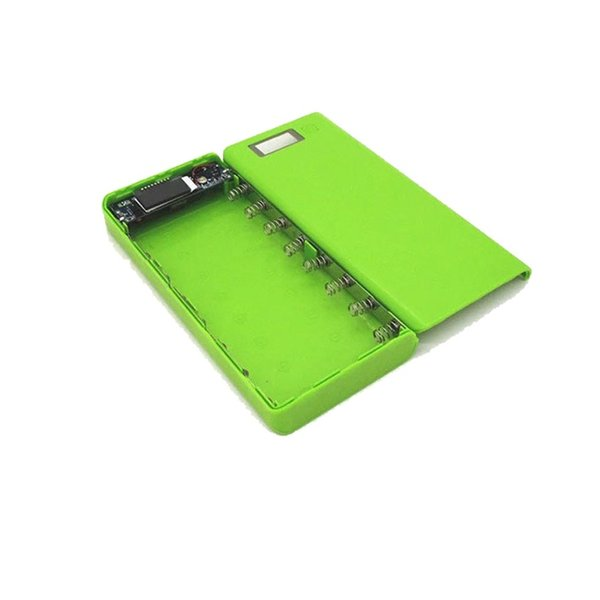 kebidumei New LCD Display DIY 8*18650 Case Power Bank Shell Portable External Box Without Battery