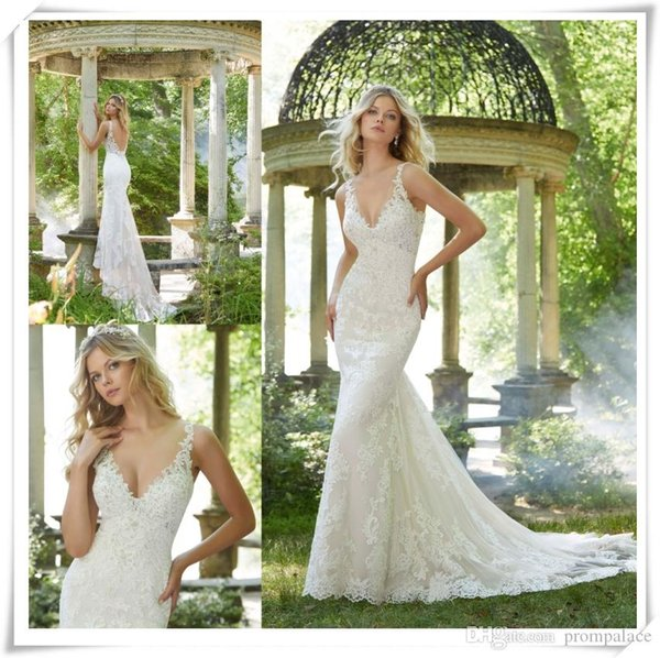 Custome Mermaid Wedding Dress 2021-0122 Paige Wedding Gown Sweetheart Neck Appliques Beaded Button Back Leaking Lace