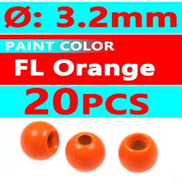 20pcs FL orange 3.2