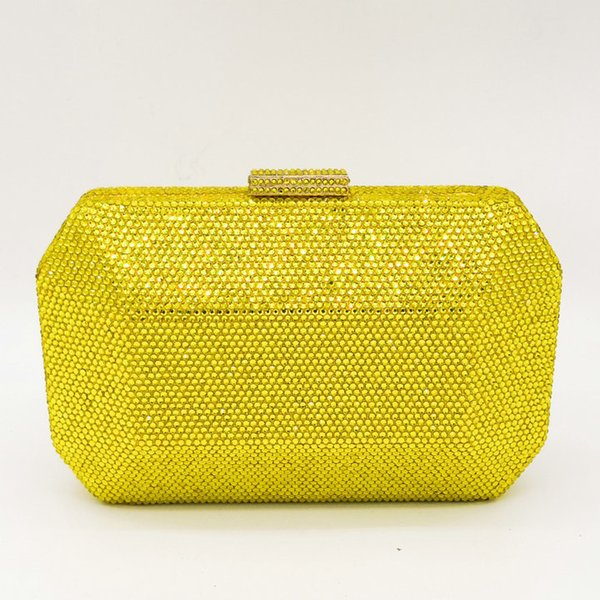 Yellow Crystal Bag