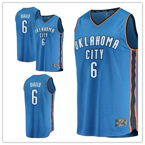 uk availability 5162c a84db 2019 Custom 2019 Men'S City Thunder 6 Hamidou Diallo Fanatics Branded Blue  Fast Break Replica Oklahoma Women Kids Jersey From Newlife008, $25.88 | ...