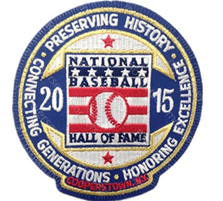 2015 hall of fame patch