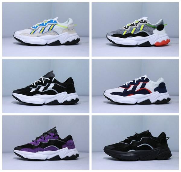 2019 sapatos New OZWEEGO ADUPRENE Homens Mulheres velocidade Calabasas Running Shoes instrutor Designer Sports Designer Sneakers Chaussures