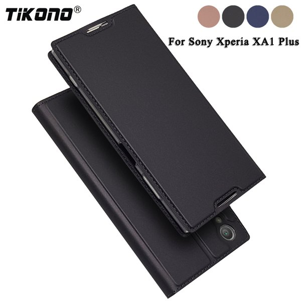 wholesale For Sony Xperia XA1 Plus Case XA1Plus 5.5 Luxury Leather Flip Book Cover Phone Bags Cases for Sony Xperia XA1 2 Xper XA1+