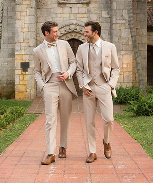 İtalyan Tarzı Üç Parçalı Düğün Balo Parti Erkekler Damat Suit Gri Damat Smokin Sağdıç Suit Suits