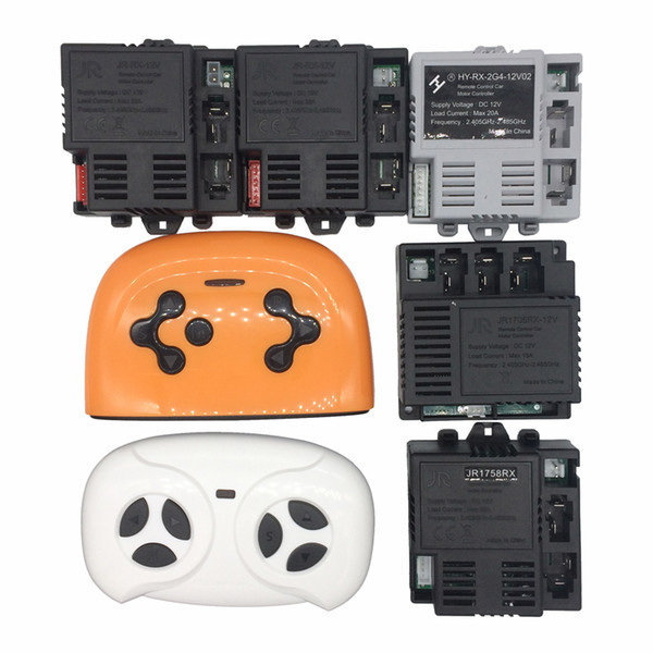 best selling JR-RX-12V 6V Children's electric car bluetooth remote control and receiver, smooth start controller JR1705RX-12V and JR1758RX