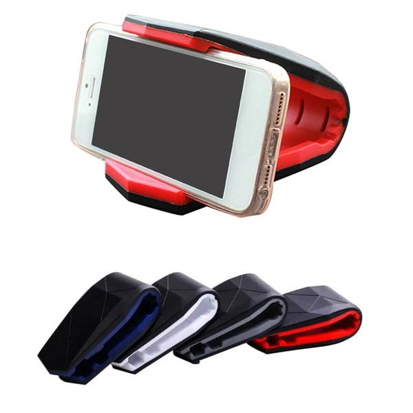 Universal Alligator Phone Holder Stand Adjustable Clip Holder Car Dashboard Mobile Scaffold Cradle Mount Holder for iPhone XS 8 7 Samsung S9