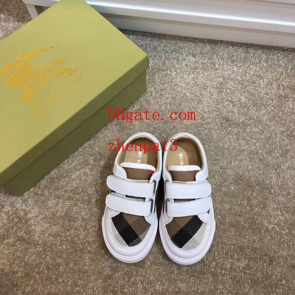 kids sneakers Spring children shoes Boys Girls Single Casual PU Leather Kids Loafers Girls boys sneakers breathable toddlers kids shoes Bu8