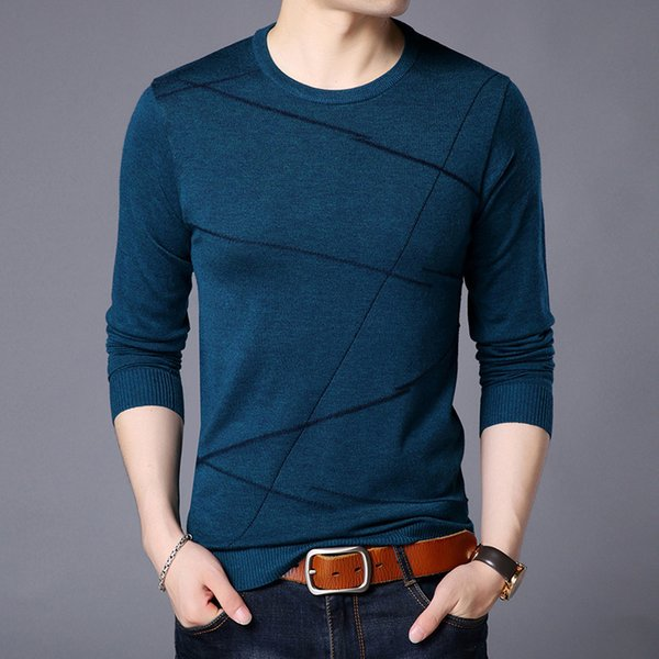 Pop2019 Knitting Product Korean Easy Round Neck Sweater Youth Cool Time Rendering Unlined Upper Garment Jacket