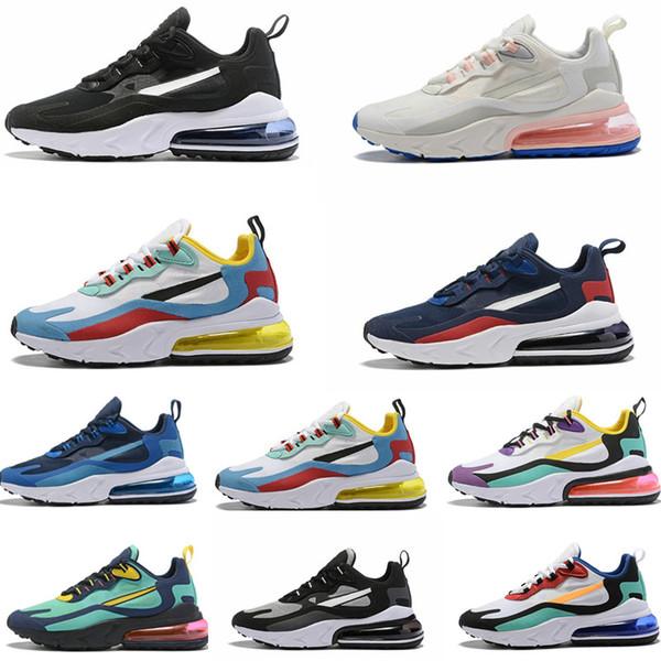 Laufschuhe Nike 270 27c Sneakers React 27C Bauhaus Weiß Sneakers Blau Air White Hellviolett Void Gelb Großhandel Max Summit KIDS Lifestyle Herren 3FJKTcl1