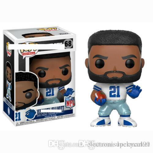 Nouveau !!! chanceux FUNKO POP star du football 68 # Figures vinyle action jouets Collection