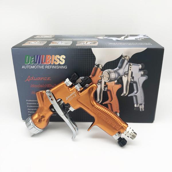 pistola de pintura em spray devilbiss HD-2 Pistola de pintura em spray airbrush para pintura de carros