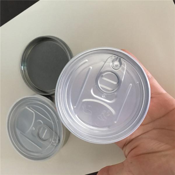 консервные банки упаковки сухого контейнера для хранения травы может легко открываемые торец кольца тянуть вкладки С нижней прессой в