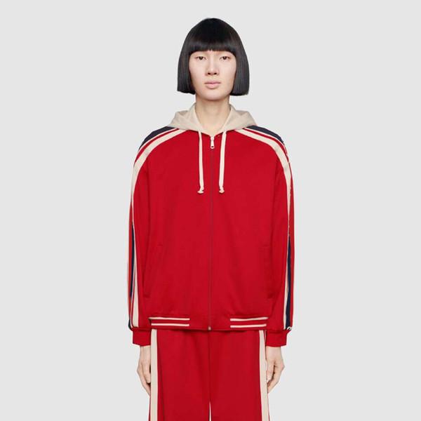 19SS Lüks Logo Nakış Avrupa Erkekler Kadınlar Kazak Suit Marka Nakış Rahat Eşofman Dış Giyim Pantolon Spor Spor HFSSTZ001 Giymek