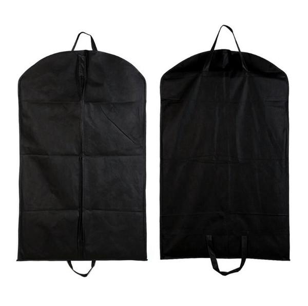 Black Dustproof Hanger Coat Clothes Garment Suit Cover Storage Bags,clothes storage,almacenamiento,Case for clothes SN3020