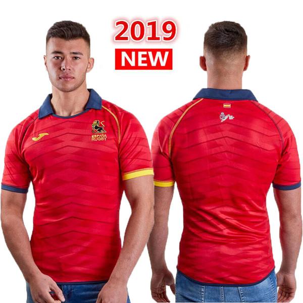 International League Spain 2019 Maglia da rugby nazionale Maglia da rugby nazionale Maglia da maglia della Spagna League shirts s-3xl