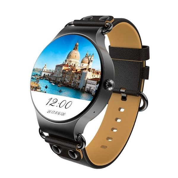 2018 KINGWEAR KW98 Smart Watch Android 5.1 3G WIFI GPS Watch MTK6580 Smartwatch iOS Android For Samsung Gear S3 Xiaomi PK H2
