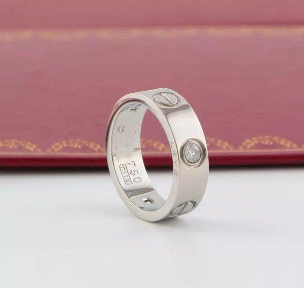 6mm plata con piedra